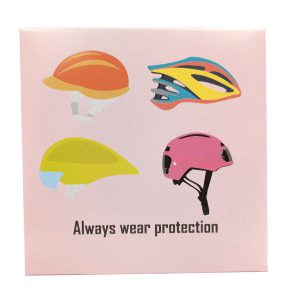 Always Wear Protection Bicycle Condoom