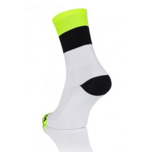 Winaar Wit Zwart Fluo Sokken