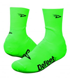 DeFeet Slipstreams Neon Green Overschoenen