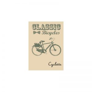Cyclette Ansichtkaart Classic