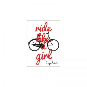 Cyclette Ansichtkaart Ride Like a Girl