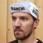 2018 Bianchi Fausto Coppi Retro Koerspetje Omhoog