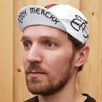 2018 Eddy Merckx Retro Koerspetje Omhoog