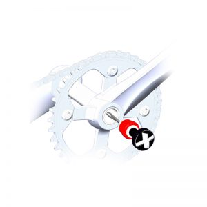 MaXalami Twister Tubeless Repair Crankset