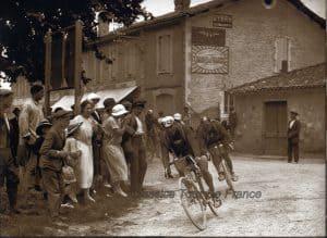 Oude Wielrenfoto's Ansichtkaarten Set Phillippe Thys in 1913