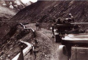 Oude Wielrenfoto's Ansichtkaarten Set col de l'Izoard1925