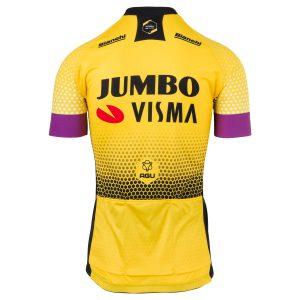 2019 AGU Jumbo-Visma Shirt Kind Achterkant