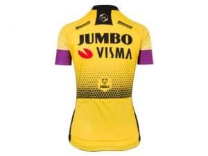 Productfoto van 2019 AGU Jumbo-Visma Shirt Dames Achterkant