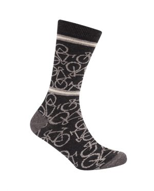 Productfoto van Le Patron Bicycle Dark Grey Sokken