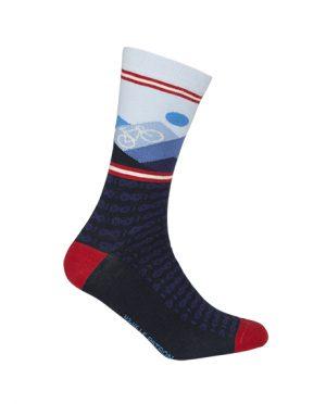 Productfoto van 2020 Le Patron Mountain Dark Blue Sokken